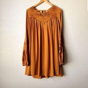 Umgee boho tunic dress